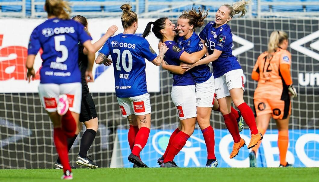 Vålerengas damer er klar for sin andre cupfinale på to år. Og igjen kan motstanderen bli LSK, som Enga-damene banket i fjorårets finale.
