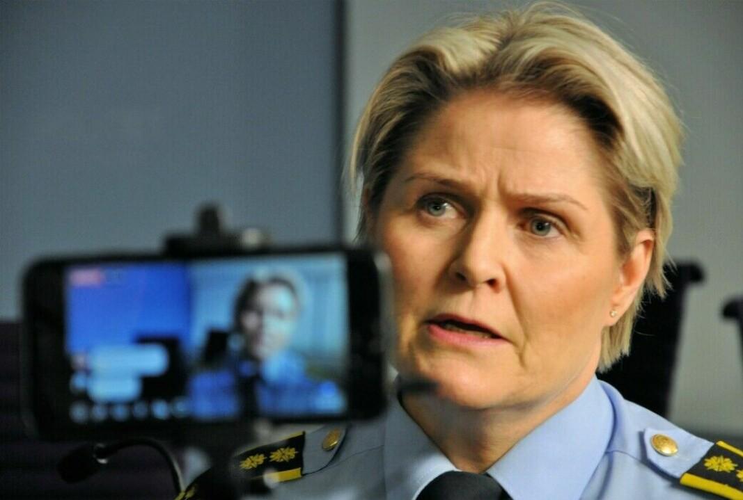 Ung mann siktet etter skyting i Vika lørdag: — Han er avhørt gjennom natten og har forklart seg, sier politiinspektør Grete Lien Metlid.
