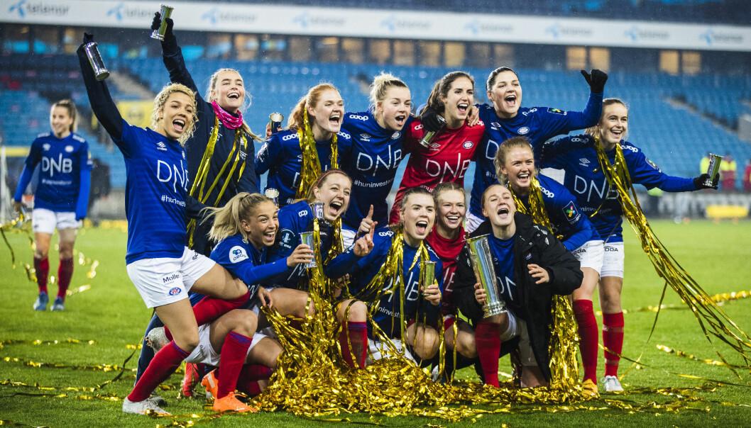Vålerenga jublet etter både kongepokal og seriegull i fjor. I år venter en tøff motstander i cupfinalen.