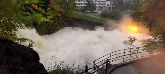 Må slippe mer vann ned Akerselva: - Vi er nødt fordi Maridalsvannet stiger