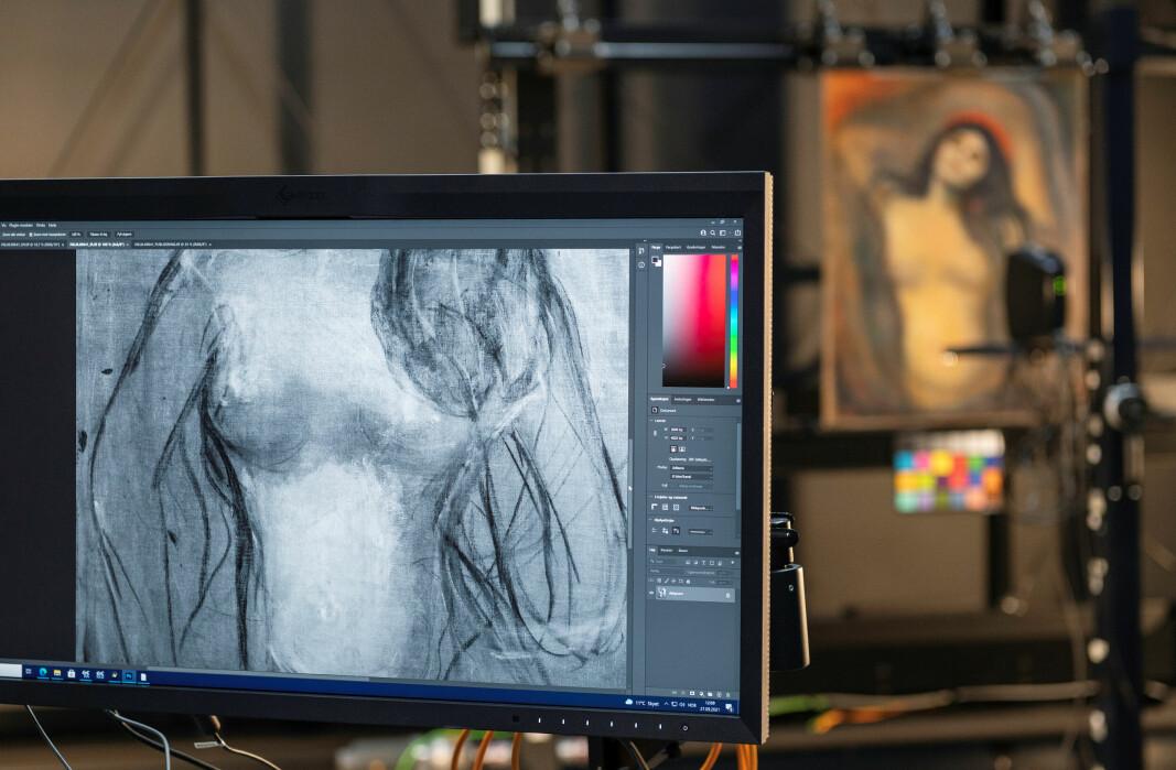 Avsløringen gir ny og verdifull innsikt i hvordan et av Munchs mest kjente malerier ble til.