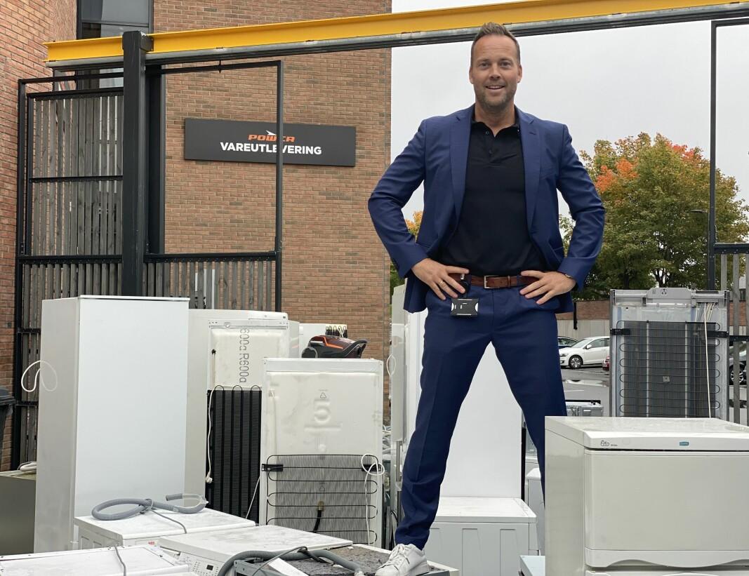 — Satsingen på RePower er en begynnelse på noe større, som forhåpentligvis kan bidra til å gi elektronikkprodukter et lengre liv, sier norgessjef Anders Nilsen.