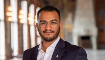Omar Gamal er byråd for kultur, idrett og frivillighet i Oslo. Tidligere elev på Prinsdal skole.