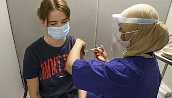 Alle over 12 år kan vaksinere seg mot korona via drop-in