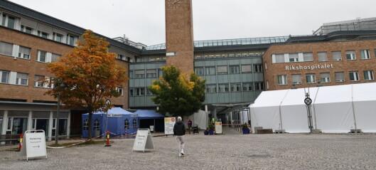 To koronadødsfall på Oslo universitetssykehus