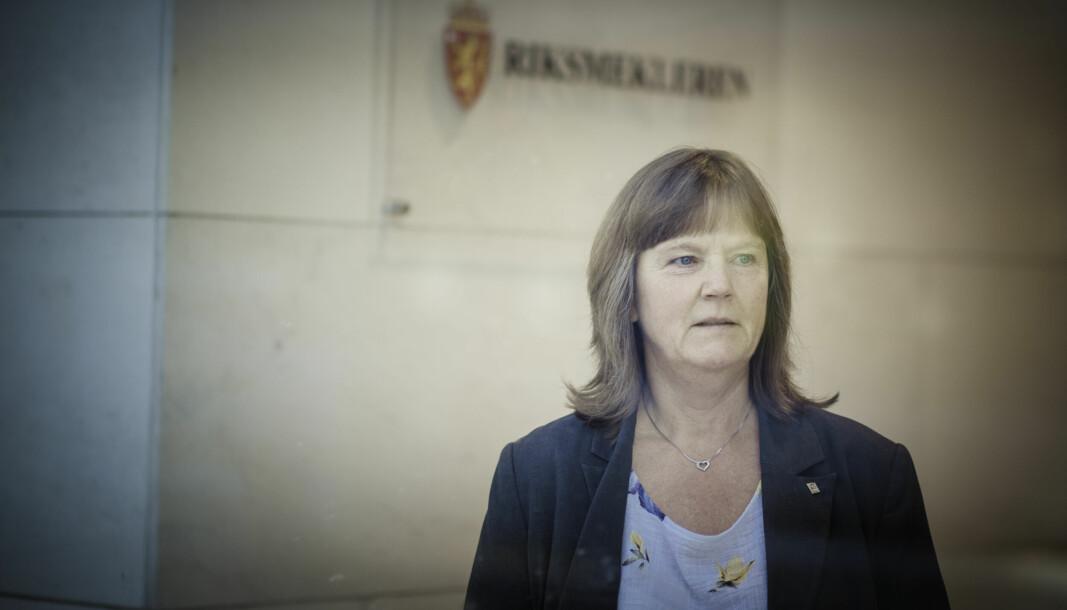 – Jeg anbefaler at arbeidsgiverne holder løftene, og setter seg ved bordet for å diskutere pensjon med oss, sier forhandlingsleder i LO Stat, Lise Olsen.