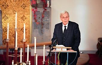 Filmskaper Petter Vennerød bisatt fra Frogner kirke