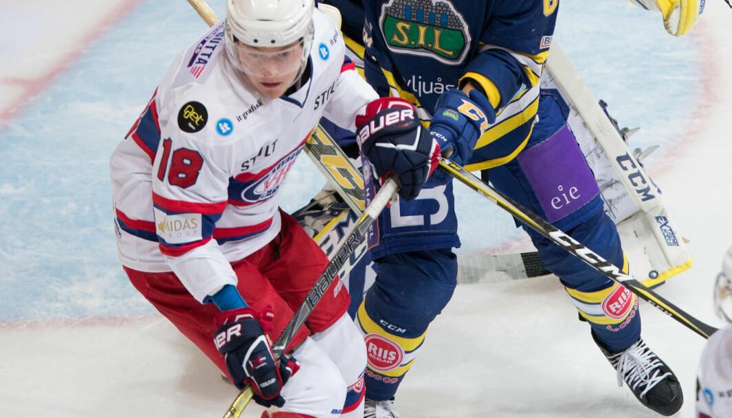 Thomas Olsen tok straffer for Vålerenga i målkalaset mot Frisk Asker. Foto: Fredrik Hagen / NTB