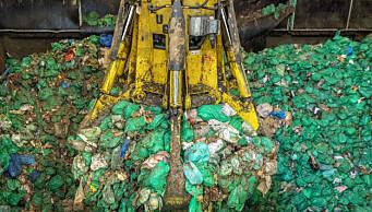 Grønne avfallsposer er blitt et pengesluk for Oslo