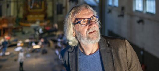 Plateselskapet Kirkelig Kulturverksteds leder, Erik Hillestad, får St. Olavs Orden