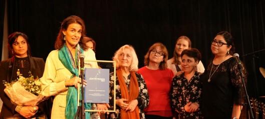 Jenteprisen til Moving Mamas for å få minoritetskvinner i lønnet arbeid