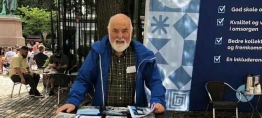 Bystyrets eldste takker for seg: - Det har vært gøy i ni måneder, sier Høyres Hermann Kopp (85)