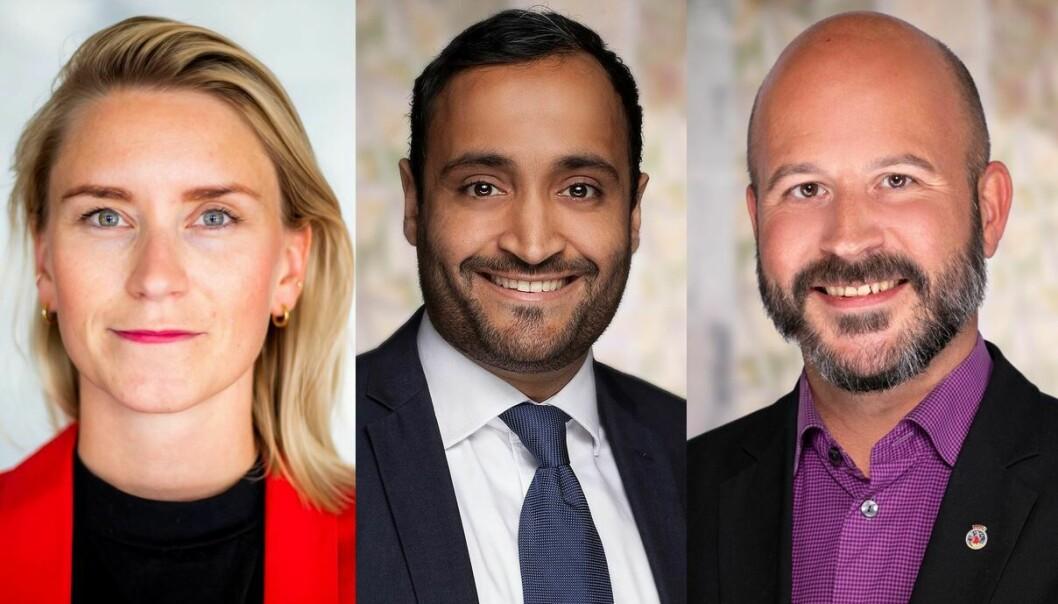 En av disse blir byens neste varaordfører: Line Oma, Abdullah Alsabehg eller Jon Reidar Øyen.