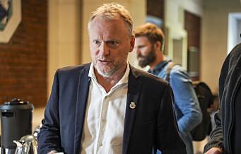 Raymond Johansen blir ikke en del av den nye regjeringen