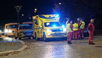 Oslo universitetssykehus har sendt tre luftambulanser og åtte ambulanser til Kongsberg