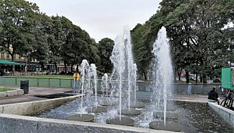 Endelig er fontene på Kiellands plass i gang igjen. Men nå stenges vannanlegget nok en gang