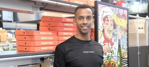 Hos Nathan og Food Family på Tøyen får du pizza, sushi og pokebowls. – Målet er å være billigere enn konkurrentene
