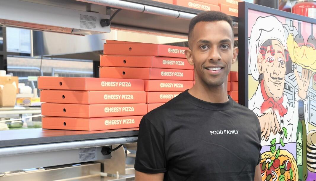 Nathan Jirenyaa Etefa og Food Family pressenterer et helt nytt konsept innen take away i Kolstadgata på Tøyen.