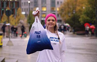 Lunar-ansatte og kunder plukket søppel mens de løp i Oslo sentrum