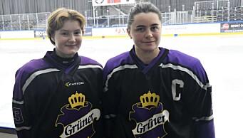 Endelig kan Grüner-damene spille ishockey igjen. — Vi går for medalje, sier kaptein Frida Arnkvist (27)