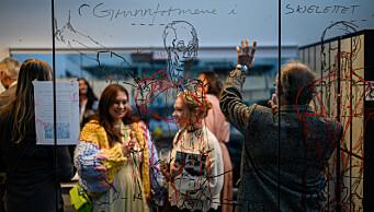Oslos første private kunstskole 50 år: – Jeg følte det var dommedag hver fredag