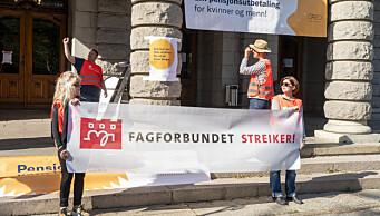 Om meklingen mislykkes i morgen, tas ytterligere 209 kulturansatte tas ut i streik
