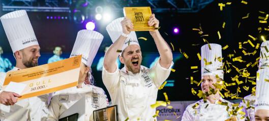 Kokk fra Hotel Bristol vant årets kokk
