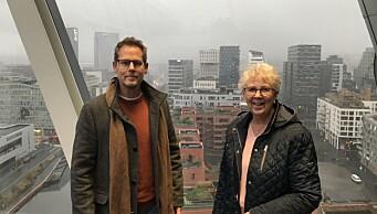 I morgen åpner MUNCH. — Vi er voldsomt begeistret og aldeles overveldet over hvor flott og spennende dette har blitt, sier Turid (75) og sønn Per-Arne (52)