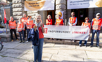 Kulturstreiken ved Operaen og teatrene er over – enighet om pensjon. – Vi er glade, sier LO