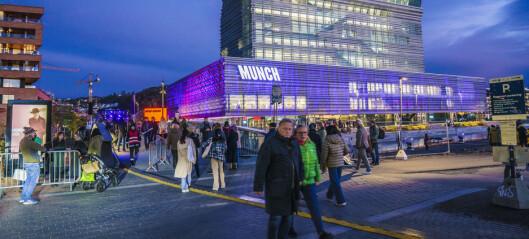 Åpning for fulle hus for Munchmuseet