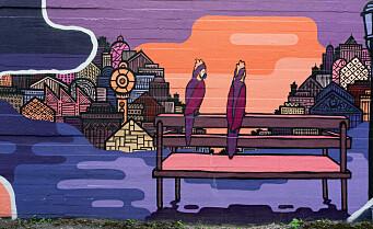 Ved Fontenehuset på Bislett i ligger et graffiti-verk som slår pusten ut av deg